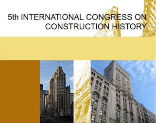 5th INTERNATIONAL CONGRESS ON CONSTRUCTION HISTORY