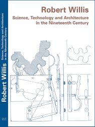 New book: Robert Willis: Science, Technology and Architecture in the Nineteenth Century